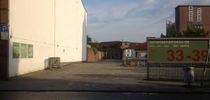 Grundstückzufahrt Schanzenstrasse 33 - 39