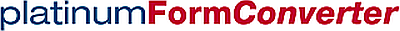 Schriftzug platinumFormConverter