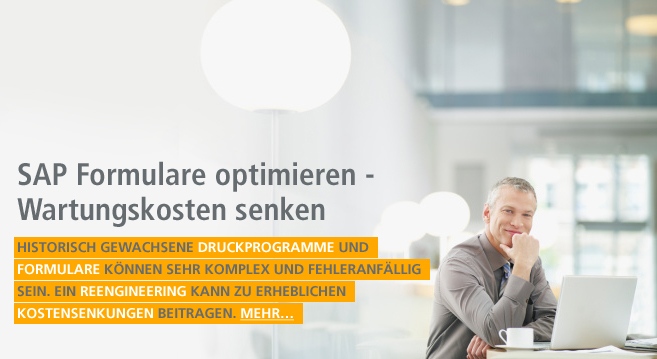 SAP Formulare optimieren